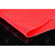 Silikonkautschuk beschichtetes Fiberglasgewebe rote Farbe