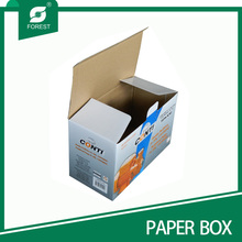 Flat Fold Easy Assembled Wellpappe Verpackungsbox