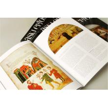 Impressão de livro de capa dura profissional com quatro cores personalizadas