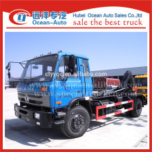 DongFeng 4x2 camión de basura con contenedor desmontable