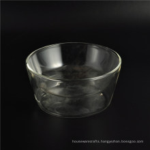 220ml Double Wall Glass Cup Residential Glass Tea Cup