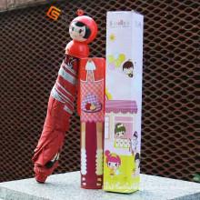 Speicla Cartoon Handle Umbrella in Bottle (YS-3FB004A)
