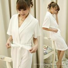 Roupão 100% do algodão para vestes do hotel com preço barato