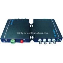 Wettbewerbsfähige 4 CH 1080P Auflösung Ahd & Cvi & Tvi Video Fiber Übertragung