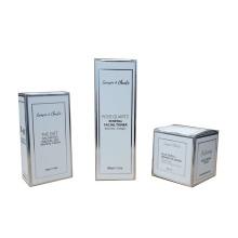 Custom Retail Logo Printed Cardboard Cosmetic Box Skincare Package Card Paper Box for Packaging Perfume Bottles