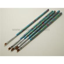 Atacado Nail Tools Plastic Nail Art Brush Set