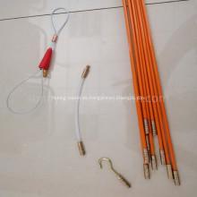10m flexibles Zugkabel Fiberglas durchgehender Stab