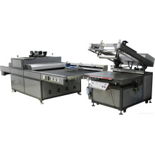 TM-UV750-4 UV secadora + Tmp-70100 plana pantalla impresora Kit
