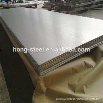 calidad grado de ASTM a240 acero inoxidable hoja 302