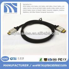 Câble HDMI Metal Metal Sliver Metal