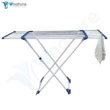clothes drying rack with retractable towel rack