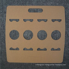 Multi-Specification Kraft Paper Holder/Disposable Coffee Tray for Take-out