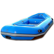 Blue Inflatable Raft Boat for Fishing or Drifting (SH)