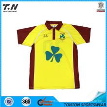 2015 Polo T Shirt Stylish Shirts for Men New Design Stylish Shirt Cheap Chinese T-Shirt Yarn Dyed Fabric