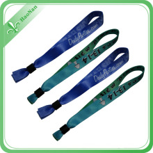 High Quality Custom Printed Polyester Promotional Wristband
