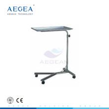 AG-SS008 hôpital plateau stand clinique instruments chariot avec un poste