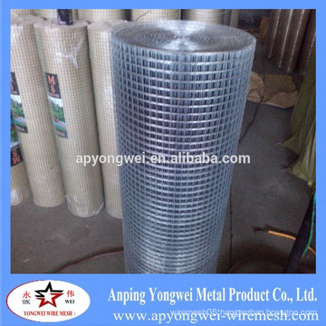 YW-anping factory supply 1/4 1/2 1 inch hot dipped/ electro galvanized welded wire mesh                                                                         Quality Choice