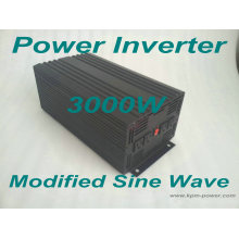 Inversor de energía de onda sinusoidal modificada de 3000 vatios / Inversores de energía para el automóvil