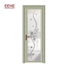 Asian aluminium door for interior aluminium toilet door aluminium door