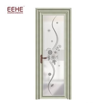 Asian aluminium door for interior aluminium toilet door aluminium door