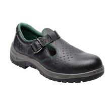 Sandales Casual Style Split en relief des chaussures de sécurité en cuir (HQ01050)