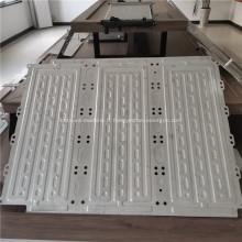 Plaque de refroidissement à eau en aluminium pour Superguide