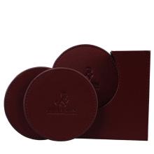 Coeur en cuir PU personnalisé en 2016 avec marron