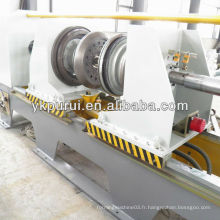 Machine de bordure et perlage pour machine à fabriquer des tambours en acier