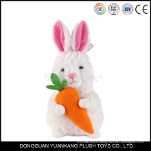 Wholesale Stuffed 15cm Plush Mini White Rabbit Toy
