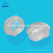 Lentilles personnalisées Doublet 25.4mm anti-reflet revêtement de lumière visible
