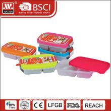 2 отсека микроволновой безопасной пищевой контейнер