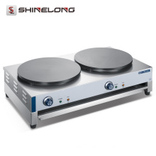 Industrial Stainless Steel Counter Top Electric Gas Crepe Maker Machine and Hot Plate