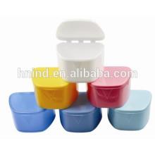 Trapezoidal Dental plastic retainer/ denture box/denture case