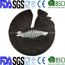 Cock Shape Cast Iron Bacon Press Chinese Factory Direct Supply