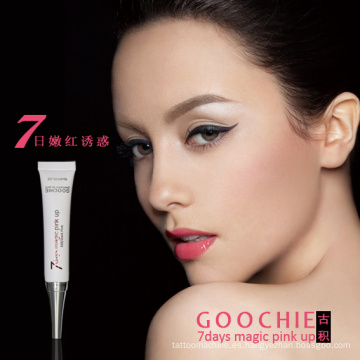 Goochie 7 Days Magic Pinkup Maquillaje permanente brillo de labios