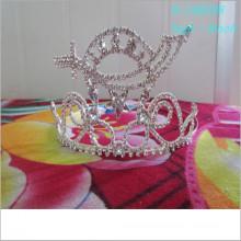 Wholesale Fashion custom pageant tiara king crown holiday