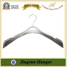 Plastic Hanger Manufacture Fashion Silver Plating Dresses Hanger