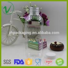 Food 550ml garrafa de plástico vazio de plástico vazio para água mineral