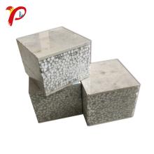Ligero exterior de pared prefabricado a prueba de fuego Pre ligero Eps y panel de sandwich compuesto de cemento