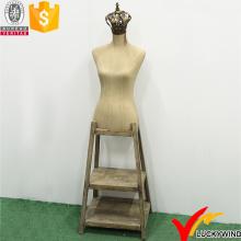 Декоративные манекены Vintage Woman Boutique с деревянной подставкой