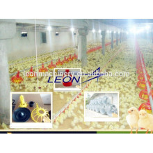 Automatic poultry feeding system for broiler chicken house