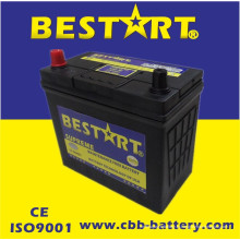 Bateria superior JIS 46b24r-Mf do veículo de Bestart Mf da qualidade 12V45ah