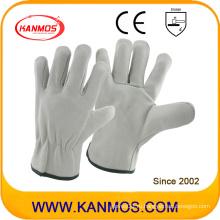 Подходит Перчатки для защиты от промышленной стихии из свиной кожи Кожаные рабочие перчатки (222011)