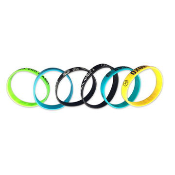 Rainbow Colorful Bracelet for Sports Silicone Band