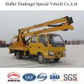 Camión con Plataforma de brazo plegable Isuzu de 14m Euro5