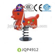 JQP4912 Kids Plastic Play Balancín para niños spring balancín
