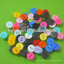 Mini Runde Kunststoffknopf