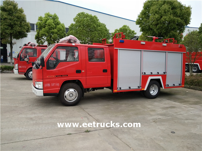 Water Tank Fire Trucks