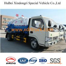 4.0cbm Sewage Suction Truck Industrial Usage