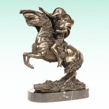 Male Figure Napoleon Metal Home Deco Bronze Sculpture Statue Tpy-461